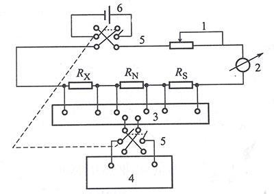 测量二线制感温元件接线示意图