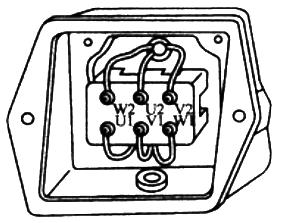 三相异步电动机接线盒