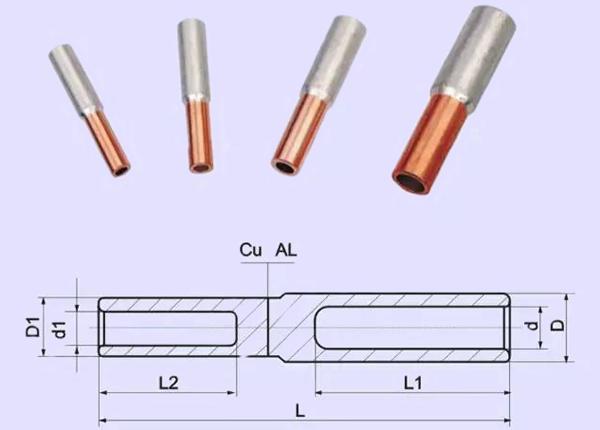 铜铝过渡连接管