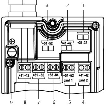 ABB定位器端子分布图