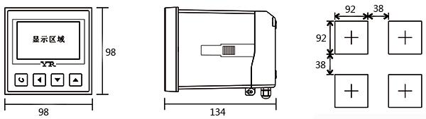 电导率在线监测仪外形尺寸